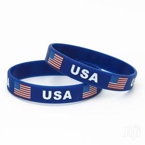 High Quality USA Rubber Arm Wrist Band/Bracelet/Bungle | Clothing Accessories for sale in Kampala