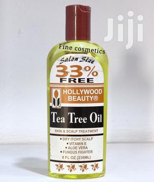 Hollywood Beauty Tea Tree Oil Skin Hair Scalp Treatment | Hair Beauty for sale in Kampala