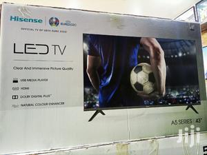 Hisense 43 Inches LED Digital Frameless Digital Flat Screen. | TV & DVD Equipment for sale in Kampala