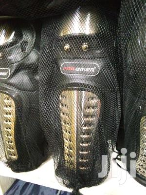 Pro- Biker Metalic Knee And Elbow Shin Guard Caps | Vehicle Parts & Accessories for sale in Kampala