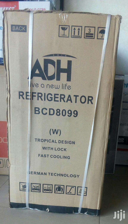 99 Litres Adh Fridge Double Door