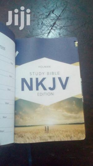 HOLMAN NKJV Study Bible Edition Leather Cover   Books & Games for sale in Kampala