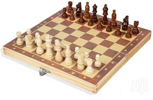 Foldable International Chess Set Portable   Books & Games for sale in Kampala