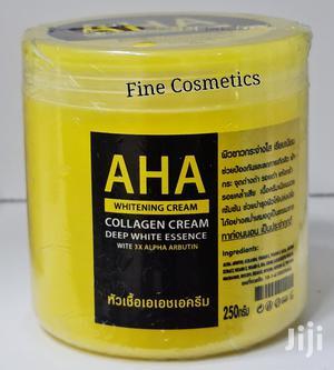 AHA Whitening Cream Ehnanced Collagen Body Skin Cream | Bath & Body for sale in Kampala