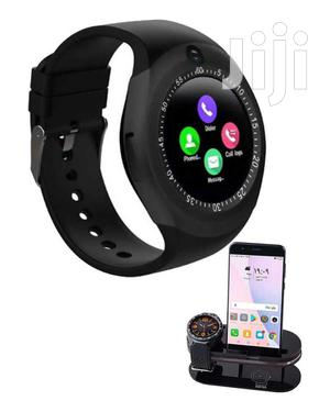 Y-Series Touchscreen Bluetooth Smartwatch Simcard Support | Smart Watches & Trackers for sale in Kampala