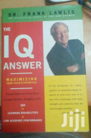 The IQ Answer: Maximising Your Child's Potential   Books & Games for sale in Kampala