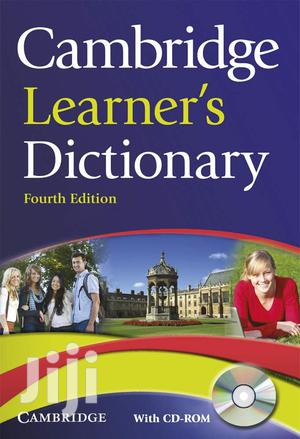 Cambridge Learner's Dictionary New 4th Edition With CD-ROM | Books & Games for sale in Kampala