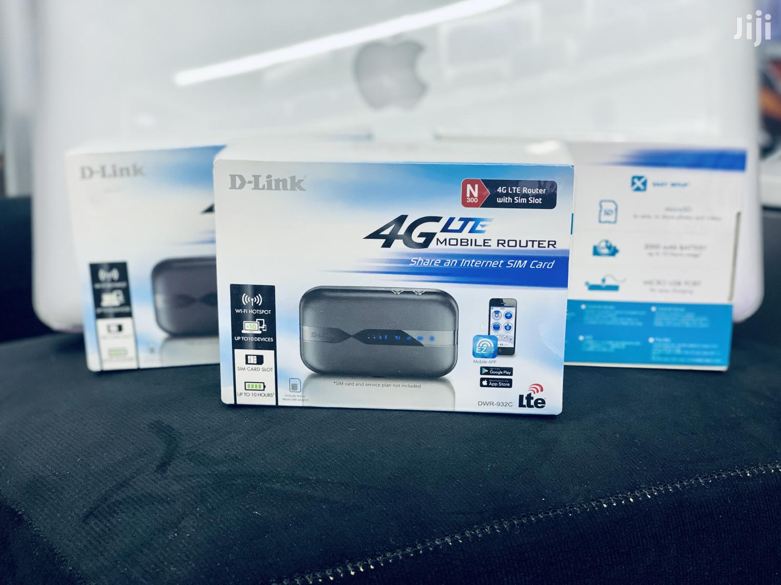 D-Link 4G LTE DWR-923C UNLOCKED Mobile Wifi Router Mifi   Networking Products for sale in Kampala, Uganda