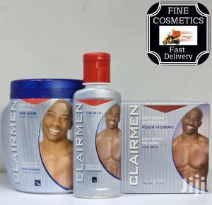 Clair Men Brightening Program Set Of Cream,Oil+Soap For Men   Skin Care for sale in Kampala