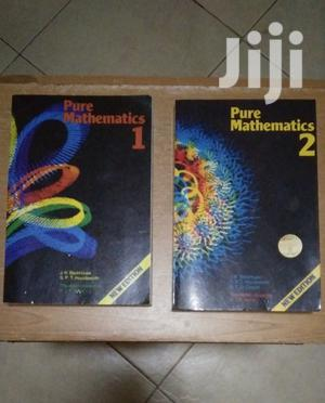Pure Mathematics 1 2 J. K.Backhouse   Books & Games for sale in Kampala