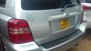 Toyota Kluger 2007 Silver   Cars for sale in Kampala