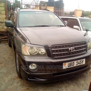 Toyota Kluger 2002 Black | Cars for sale in Kampala