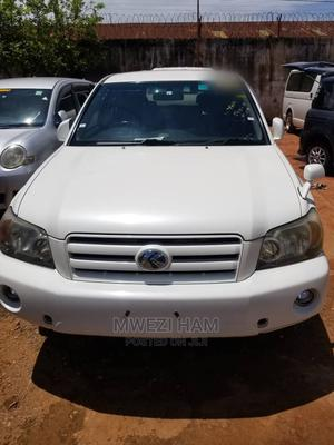 Toyota Kluger 2007 White   Cars for sale in Kampala