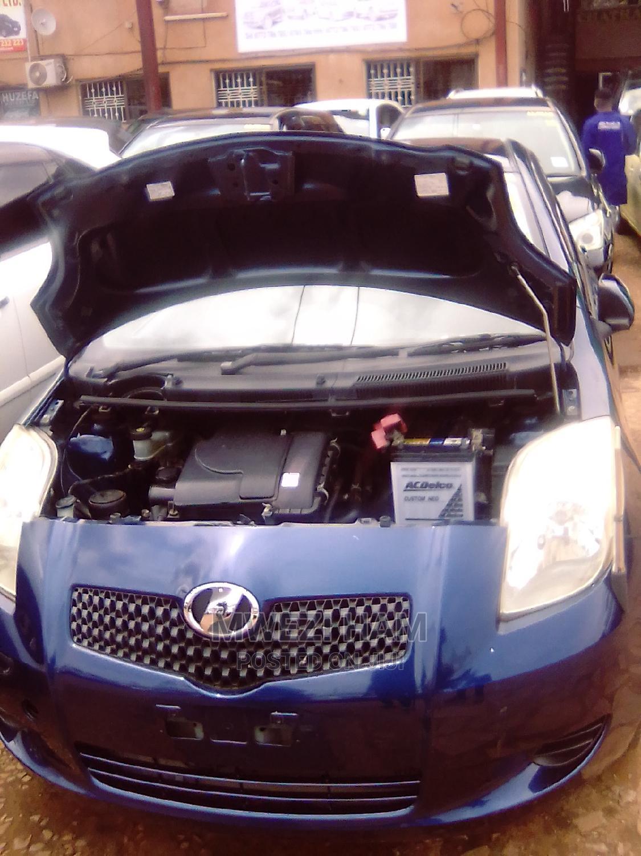 Toyota Vitz 2007 Blue