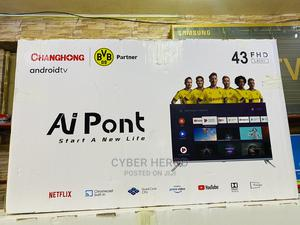 """New 43"""" Android Smart Tv Changhong 