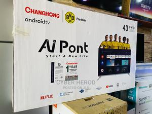 """Android Smart Tv 43"""" Changhong FHD 