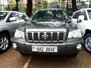 Toyota Kluger 2003 Gray | Cars for sale in Kampala