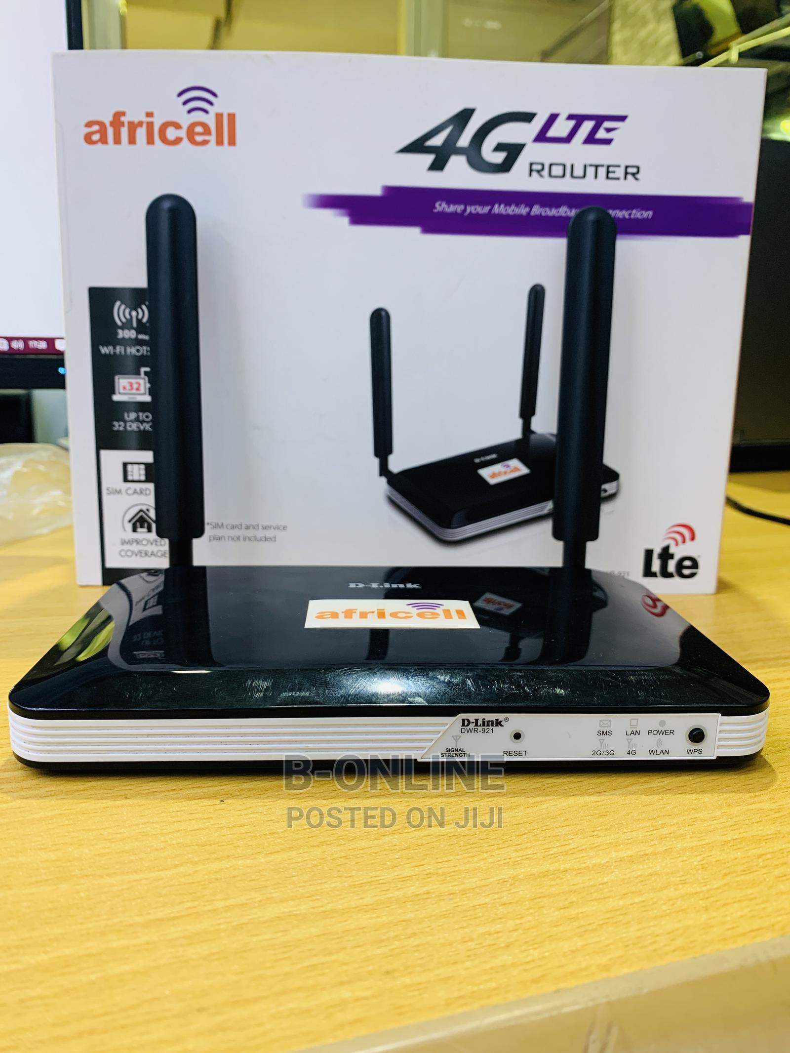 Dlink DWR 921 4G LTE Unlocked Router