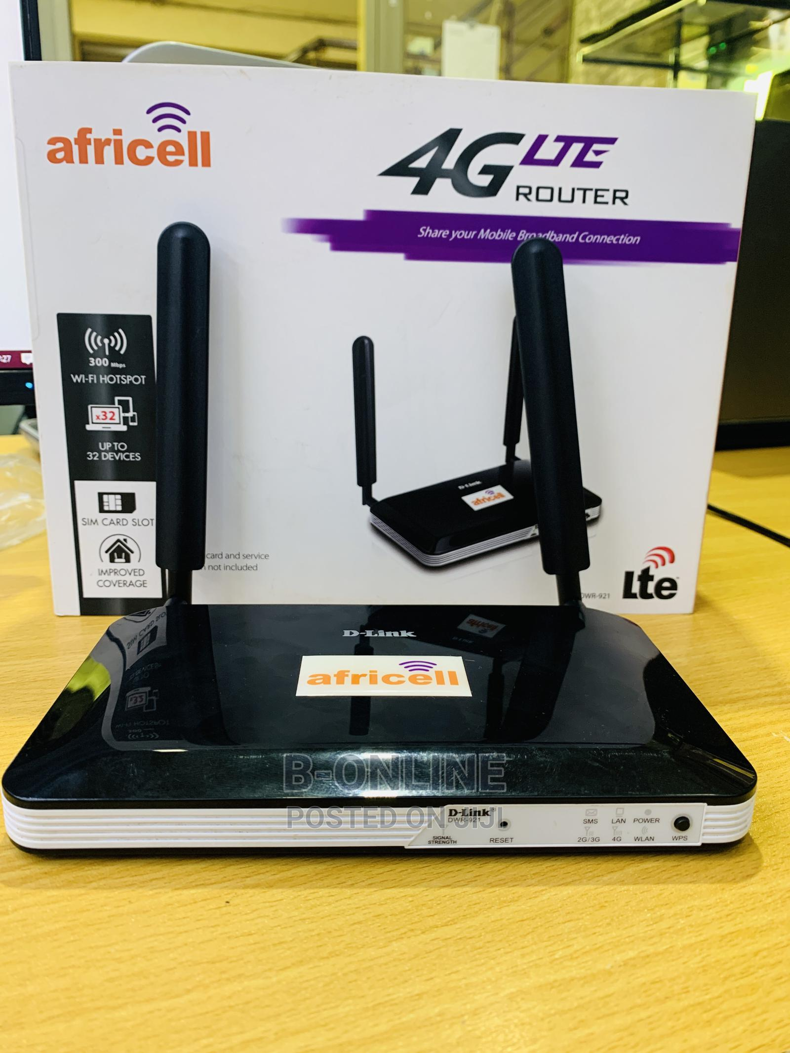Dlink DWR 921 4G LTE Unlocked Router | Networking Products for sale in Kampala, Uganda