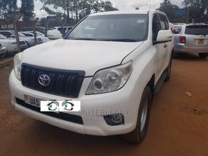 Toyota Land Cruiser Prado 2010 White | Cars for sale in Kampala