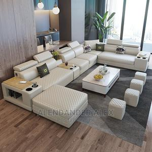 Premium Sofa 11 Seater, 4 Stools, 1 Center Table   Furniture for sale in Kampala, Central Division