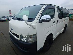 New Toyota Hiace 2010 White   Reserved for sale in Kampala