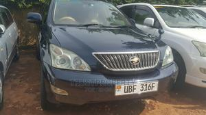Toyota Harrier 2007 Blue   Cars for sale in Kampala