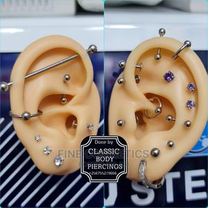 1pc Hot Selling Silver Plated Sparkling Earrings for Women   Jewelry for sale in Kampala