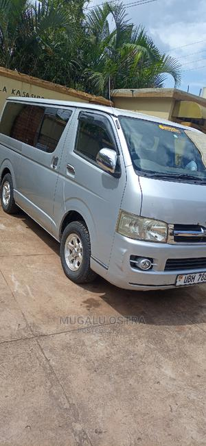 Toyota Grand HiAce 2015 Silver | Buses & Microbuses for sale in Kampala