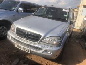 Mercedes-Benz M Class 2002 Silver   Cars for sale in Kampala