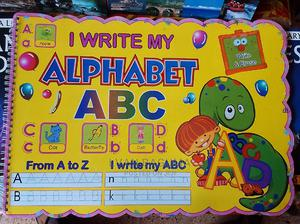 Write and Erase Alphabet Babies and Kids Book | Books & Games for sale in Kampala