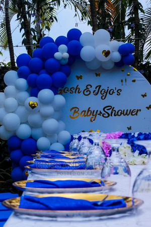 Blue and White Baby Shower Decoration Kampala City | Party, Catering & Event Services for sale in Kampala