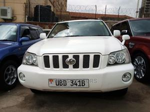 Toyota Kluger 2003 White | Cars for sale in Kampala