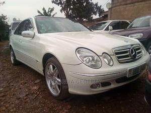 Mercedes-Benz E240 2005 White   Cars for sale in Kayunga