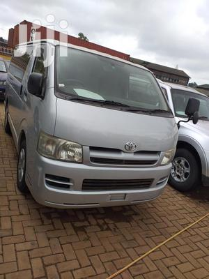 Toyota Hiace 2007 Silver | Buses & Microbuses for sale in Kampala