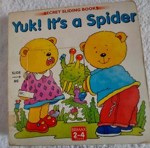 Kids Books for Sale; Yuk! It's a Spider.   Books & Games for sale in Kampala