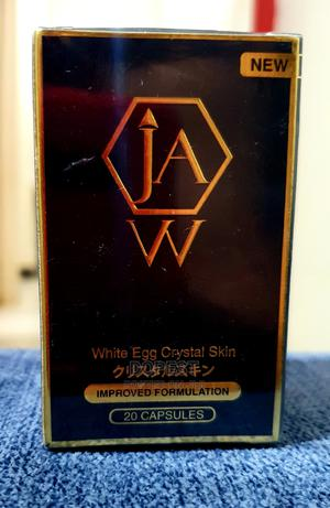 Jaw White Egg Crystal Skin Improved Formulation( L-Cysteine) | Vitamins & Supplements for sale in Kampala, Central Division