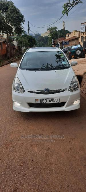 Toyota Wish 2008 White   Cars for sale in Kampala