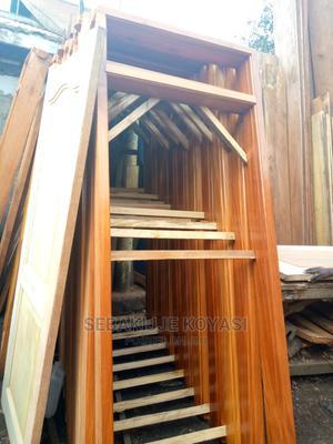 Mahogany Door Frames 8ft | Doors for sale in Kampala