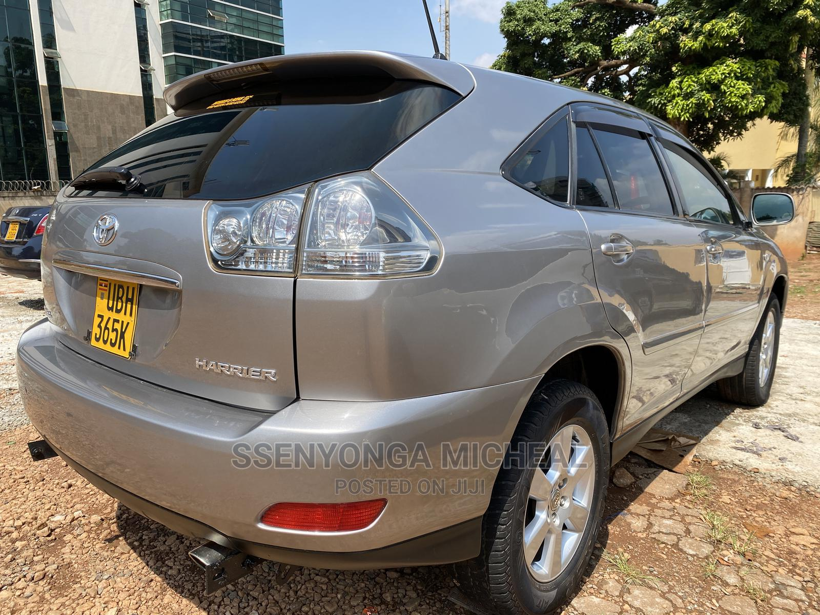 Toyota Harrier 2008 Gray | Cars for sale in Kampala, Uganda