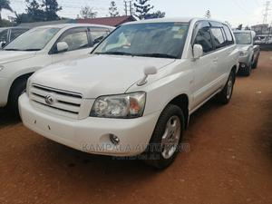 Toyota Kluger 2007 White | Cars for sale in Kampala