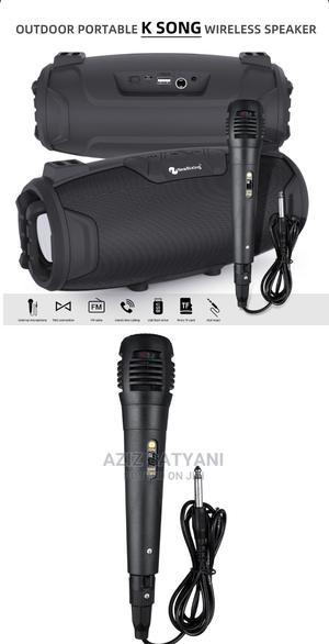 Outdoor Karoke Wireless Speaker With Microphone NR 6012m   Audio & Music Equipment for sale in Kampala