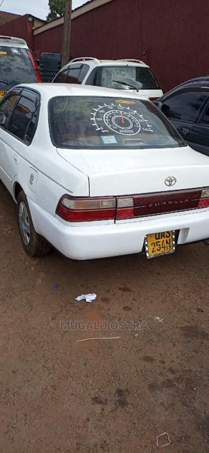 Toyota Corolla II 1996 White   Cars for sale in Kampala