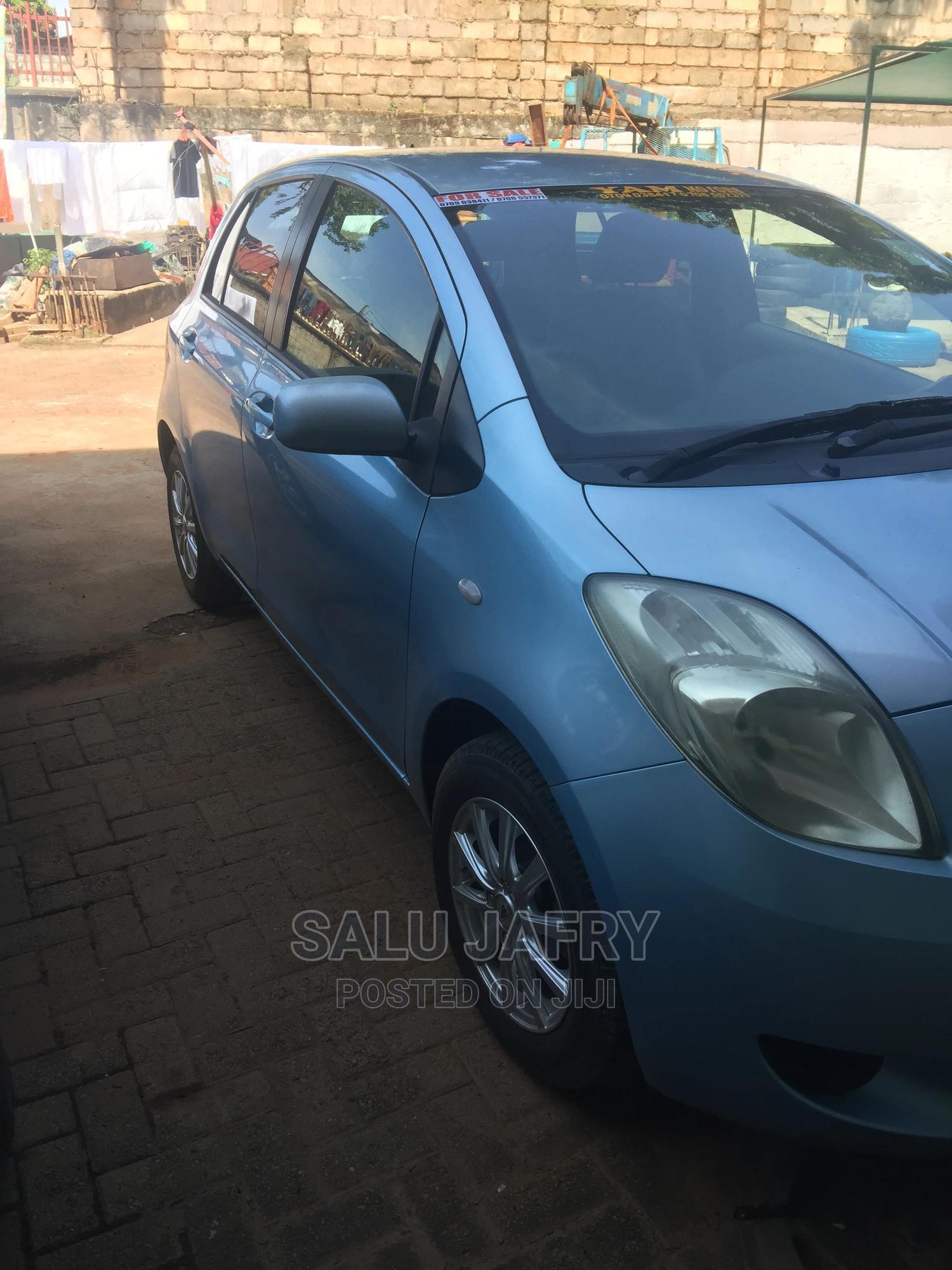 Toyota Vitz 2007 Blue | Cars for sale in Kampala, Uganda