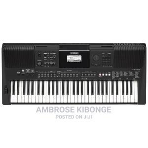Keyboard Yamaha PSR-E463 - Black   Musical Instruments & Gear for sale in Kampala