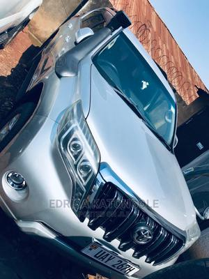 Toyota Land Cruiser Prado 2016 Silver   Cars for sale in Kampala