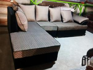 Sofa Set In L Shape With Sofa Bed   Furniture for sale in Kampala
