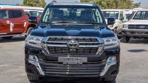 New Toyota Land Cruiser Prado 2021 2.8 Black   Cars for sale in Kampala