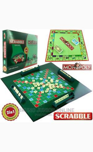 Monopoly and Scrabble Board Game 2 in 1   Books & Games for sale in Kampala