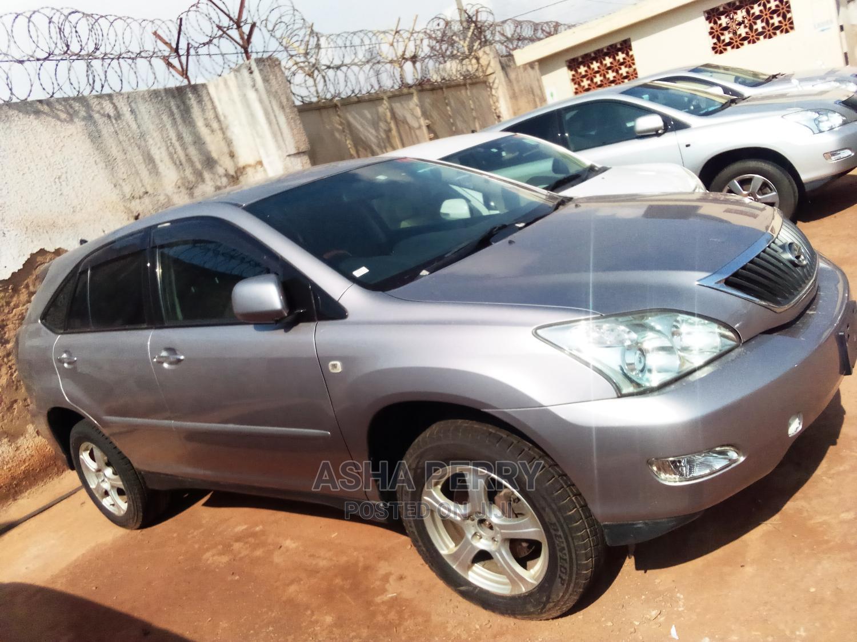 New Toyota Harrier 2007 2.4 Gray   Cars for sale in Kampala, Uganda
